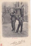 METIERS, Les Ramoneurs,  Serie Palette Rouge Kunzli, Circulée, - Artesanos De Páris