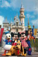 Disneyland, California, USA Postcard Used Posted To UK 1988 Gb Stamp - Disneyland
