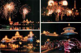 Epcot Center, Disneyworld, Florida, USA Postcard Used Posted To UK 1990 Stamp - Disneyworld