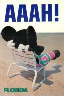 Mickey Mouse, Disneyworld, Florida, USA Postcard Used Posted To UK 1993 Stamp - Disneyworld