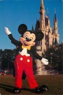 Mickey Mouse, Disneyworld, Florida, USA Postcard Used Posted To UK 1995 Stamp - Disneyworld