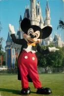 Mickey Mouse, Disneyworld, Florida, USA Postcard Used Posted To UK 1992 Stamp - Disneyworld