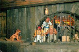 Pirates Of The Caribbean, Disneyworld, Florida, USA Postcard Used Posted To UK 2002 Stamp - Disneyworld