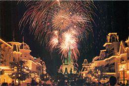 Fireworks, Disneyworld, Florida, USA Postcard Used Posted To UK 2003 Stamp #1 - Disneyworld