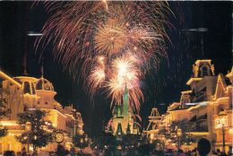 Fireworks, Disneyworld, Florida, USA Postcard Used Posted To UK 2006 Stamp #3 - Disneyworld