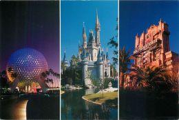 Disneyworld, Florida, USA Postcard Used Posted To UK 1997 Stamp - Disneyworld