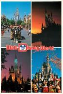 Disneyworld, Florida, USA Postcard Used Posted To UK 1990 Stamp - Disneyworld