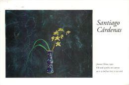Santiago Cardenas - Jarron Chino 1992 Art Painting, USA Postcard Used Posted To UK 1992 Stamp - Paintings