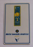 Llave De Hotel Melia Avenida America (Madrid)  - Key Card - Sin Clasificación
