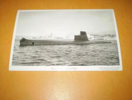 Carte Photo Sous Marin ESPADON - Submarines