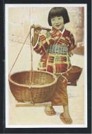 Chromo  Japon Japan  Japanese  Enfant Chromo Allemande   105 X 70 Mm  TB  RR - Trade Cards
