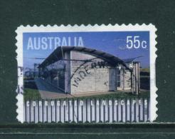 AUSTRALIA  -  2009  Corrugated Landscapes  55c  Self Adhesive  Used As Scan - 2000-09 Elizabeth II