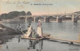 HAUTS DE SEINE  92  NANTERRE  BORDS DE SEINE  METIER  LAVANDIERES - Nanterre