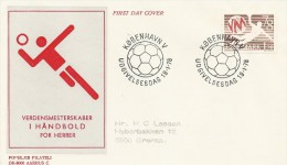 Handball World Championship For Men     1978    Fdc.     Denmark  # 614 # - Handball