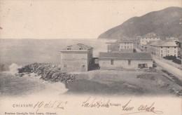 CHIAVARI-GENOVA-LA SPIAGGIA-1906-ORIGINALE D´EPOCA- - Genova (Genoa)