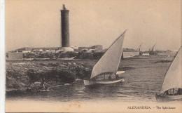 BF8975 The Light House  Ship Phare   Egypt Alexandria Front/back Image - Alexandrie