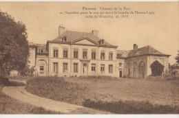 CPA BELGIQUE FLEURUS Château De La Paix 1930 - Fleurus