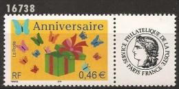 2002 - YT 3480A ** - Val. Cat.: 5.00 Eur. - Sellos Personalizados