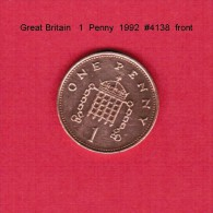 GREAT BRITAIN    1  PENNY  1992  (KM # 935) - 1971-… : Decimal Coins