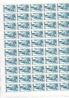 1984  - Télécommunications -  Feuille Complète De 50 Exemplaires ** - Fogli Completi