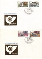 DFDC 3354-57  500 Jahre Postwesen - DDR 1990, Berlin 1085 - FDC: Covers