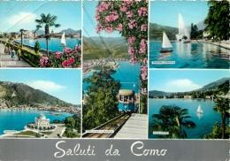 Como, Lago Di Como, Italy Italia Postcard - Como