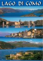 Lago Di Como, Italy Italia Postcard Used Posted To UK 2000s Gb Stamp - Como