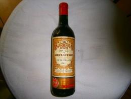 CHATEAU DU VIEUX GUINOT ANNEE 1967 GRAND CRU SAINT EMILION NUMEROTE 58965 - Vin