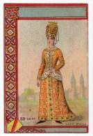 Chromo Imp. Appel, Serie Costumes, N° 33 - Kaufmanns- Und Zigarettenbilder