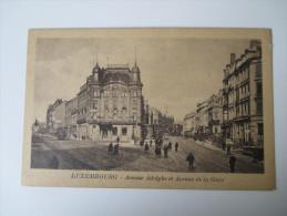 AK / Bildpostkarte Luxembourg. Avenue Adolphe Et Avenue De La Gare. Edit. Th. Wirol, Luxembourg-gare - Luxemburg - Stadt