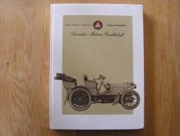 DAIMLER MOTOREN GESELLSCHAFT 1890 1990 MERCEDES BENZ Automobile Voiture Cars  DMG Aircraft Avion Aviation Industrie - Livres, BD, Revues