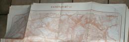 Kaart 1:10000 1948 TAMINES Belgique Carte N° 47/5 Imprimerie Institut Géographique Militaire Bruxelles Militair Geografi - Topographical Maps