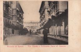 LA SPEZIA - VIA CHIODO E POLITEAMA - FORMATO PICCOLO - VG 1903 - La Spezia