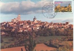 PORTRAIT DE REGIONS - 89 VEZELAY Au 29.03.2008 - TB - Maximum Cards