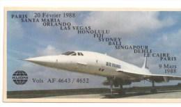 Autocollant Concorde    65x124 - Concorde
