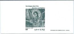 3358 - GERMINY-DES-PRES  Gravure De La Poste  Sous Blister - Documents Of Postal Services
