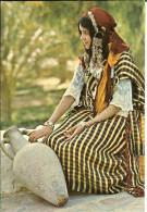 CP -  TUNISIE - COSTUME DU SUD - 1630 - KAHIA - FEMME - Túnez