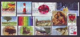 BRD - 2012 - Lot Selbstklebende Sondermarken -  Gestempelt - Briefmarken