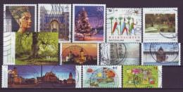 BRD - 2013 - Lot Selbstklebende Sondermarken -  Gestempelt - Stamps