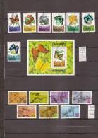 GRENADE - GRENADINES   2 Séries De Timbres Papillons Et Sport  (ref 1403 ) - Grenada (1974-...)