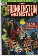 FRANKENSTEIN MONSTER N° 10 BE VO 05-1974 - Frankenstein