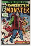 FRANKENSTEIN MONSTER N° 16 BE VO 05-1975 - Frankenstein