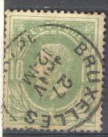 _Kd216: N° 30 : E10: Dubbel Uur: BRUXELLES - 1869-1883 Leopold II