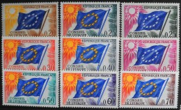 FRANCE 1963/71  - Du N° 27 Au 35  - 9 Timbres  NEUFS** Y&T 17,00€ - Neufs