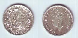 India 1/2 Rupee 1940 (b) - India