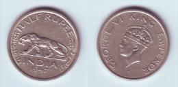 India 1/2 Rupee 1947 (b) - India