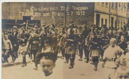 Köln, Durchmarsch Engl. Truppen 1919 - Köln