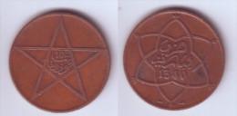 Morocco 10 Mazunas 1921 (1340 Py) - Marruecos