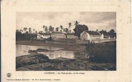 GUYANE - 973 - CAYENNE - Le Pénitencier Vu Du Rivage - Bagne & Bagnards