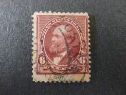 USA 1890 Garfield 6c Gestempeld - Oblitérés
